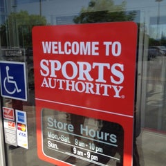 Photo taken at Sports Authority by Michael D. on 6/17/2012