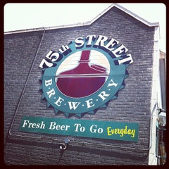 Photo taken at 75th Street Brewery by Brian C. on 7/21/2012
