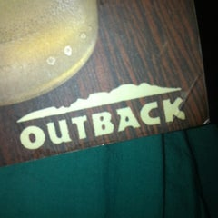 Photo taken at Outback Steakhouse by Sue E. on 4/15/2012