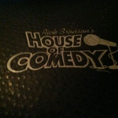 Photo taken at Rick Bronson's House of Comedy by Brent L. on 6/3/2012