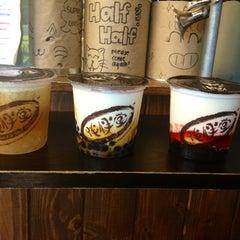 Photo taken at Half & Half Tea Express 伴伴堂 by Kristina F. on 8/24/2012