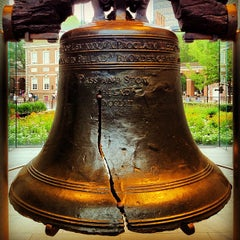 Photo taken at Liberty Bell Center by Wesley C. on 7/20/2012
