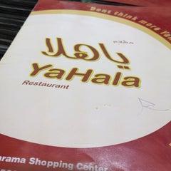 Photo taken at Yahala Restaurant by muhammad Naveed S. on 8/11/2012