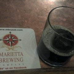 Photo taken at Marietta Brewing Company by Laura U. on 8/16/2012
