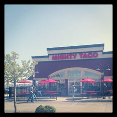 Photo taken at Mighty Taco by MacKintosh B. on 4/29/2012