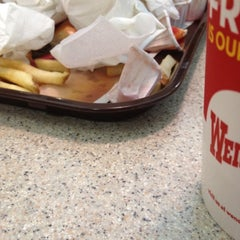 Photo taken at Wendy's by James H. on 2/18/2012