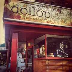 Photo taken at Dollop Coffee & Tea Co. by Nic on 9/12/2012