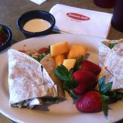 Photo taken at Jason's Deli by Traci R. on 2/26/2012