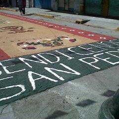 Photo taken at San Pedro Xalostoc by VERO R. on 7/8/2012