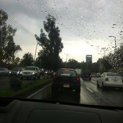 Photo taken at Cda. Constituyentes by Montserrat A. on 8/20/2012