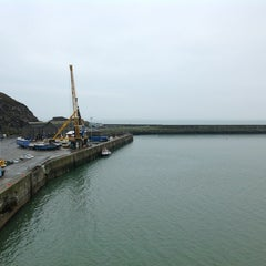 Photo taken at Fishguard Ferry Port by Jon H. on 5/3/2012