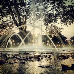 Photo taken at Sister Cities Park by resa m. on 8/14/2012