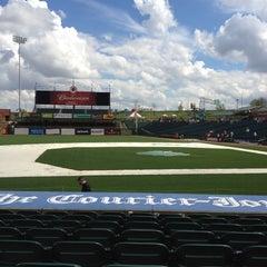 Photo taken at Louisville Slugger Field by Bill D. on 3/24/2012