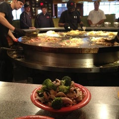 Photo taken at HuHot Mongolian Grill by Steph B. on 9/7/2012