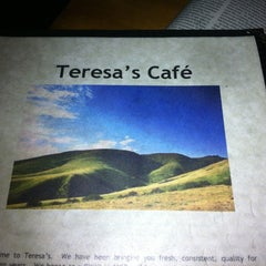 Photo taken at Teresa's Next Door by Amanda C. on 5/16/2012