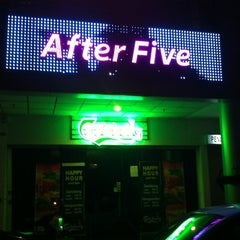 Photo taken at After Five Chill Bar by Lishyan C. on 2/15/2012
