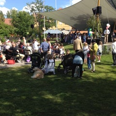 Photo taken at Almedalen by Julia B. on 6/14/2012