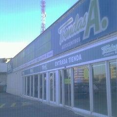 Photo taken at Tiendas A. San Sebastián de los Reyes by Amergin on 2/15/2012