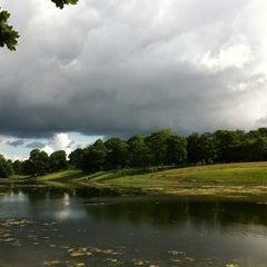 Photo taken at Sefton Park by Charlie K. on 6/19/2012