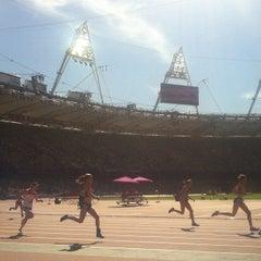 Photo taken at Olympic Stadium by Jon T. on 9/8/2012