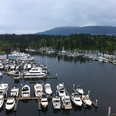 Photo taken at The Westin Bayshore, Vancouver by Jim T. on 5/3/2012
