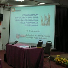 Photo taken at Fakulti Ekologi Manusia by lyena v. on 2/14/2012