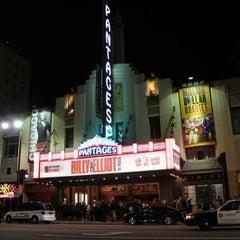 Photo taken at Pantages Theatre by Gülşah P. on 8/31/2012
