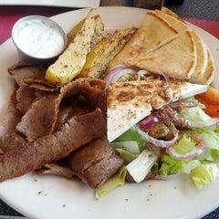 Photo taken at Mykonos Grill by Michael K. on 7/3/2012