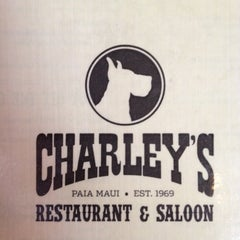Photo taken at Charley's Restaurant & Saloon by Lee H. on 3/4/2012