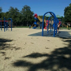 Photo taken at Rossmoor Park by Candace H. on 6/19/2012