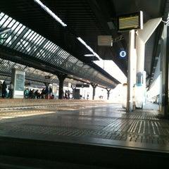 Photo taken at Stazione Milano Rogoredo by Mathz M. on 4/28/2012