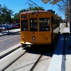 Photo taken at TECO Line Streetcar - Streetcar Society Station by Joseph M. on 3/5/2012