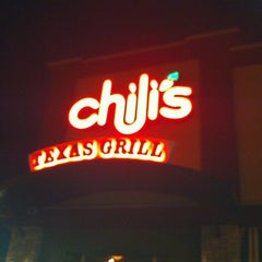 Photo taken at Chilis Texas Grill by Brooks D. on 3/11/2012