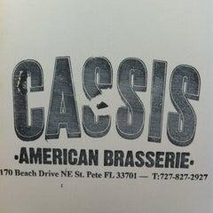Photo taken at Cassis American Brasserie by Sunje S. on 2/22/2012