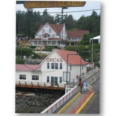 Photo taken at Orcas Island Ferry Terminal by Rob G. on 7/31/2012