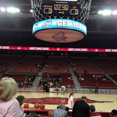 Photo taken at Bud Walton Arena by Kelly S. on 2/17/2012