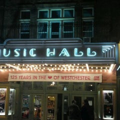 Photo taken at Tarrytown Music Hall by Sue C. on 2/9/2012