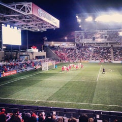 Photo taken at Toyota Park by Michael C. on 9/3/2012