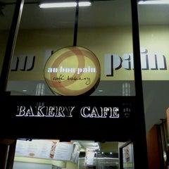Photo taken at Au Bon Pain by Sean H. on 3/28/2012
