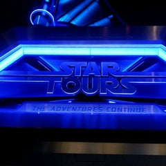 Photo taken at Star Tours - The Adventures Continue by Eric M. on 5/5/2012