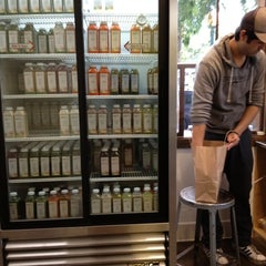 Photo taken at Pressed Juicery by Jen Pollack B. on 3/18/2012