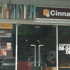 Photo taken at Cinnamono by Tum P. on 6/24/2012