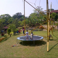 Photo taken at Cibalung Happy Land by Dedy J. on 8/23/2012