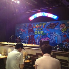 Photo taken at LOFT/PLUS ONE by takao y. on 6/23/2012