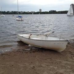 Photo taken at Lake Calhoun by Kyri S. on 5/25/2012