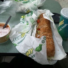 Photo taken at Subway by Eiji S. on 3/19/2012
