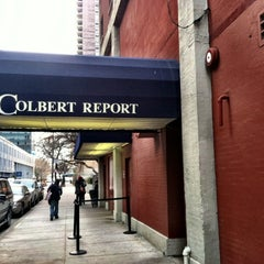 Photo taken at The Colbert Report by Lisa P. on 2/14/2012