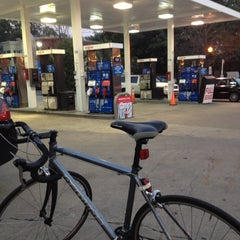 Photo taken at Georgetown Exxon by Aaron B. on 7/3/2012