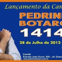 Photo taken at Comitê Pedrinho Botaro 14 145 by Pamela P. on 7/24/2012