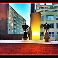 Photo taken at Holiday Inn Tampere - Central Station by Rami S. on 7/31/2012